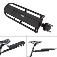 Wholesale Rear Carrier Rack Seat Shelf Mountain Cycling Bike Road Bicycle Black E1Xc A5