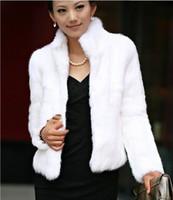Wholesale Black White Ivory Faux Fur Coat Fur Vest Autumn New Arrival Sweater Vest Short Design Women s Coat