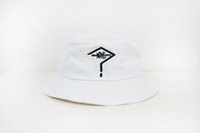 Wholesale New MADNESS International Bucket Hat White Cotton Casual Sun Cap unisex street fashion