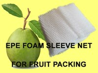 Wholesale PC cm WHITE EPE FOAM MESH FOAM SLEEVE NET for MANGO PACKAGING