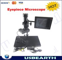 Wholesale 30 X KE208 A Electron Zoom Video Eyepiece Microscope KE A with VGA Interface