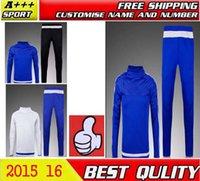 chelsea - 201 New Chelsea tracksuit Champions League Training Suit Chelsea Soccer Tracksuit Football Training Suit jacket pants Set