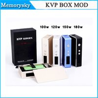 Wholesale High Quality KVP BOX MOD KVP Mechanical Mods W W W W Built in Newest VV VW Mod Battery Thread Free DHL Shipping
