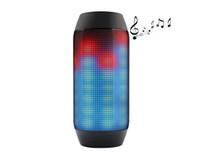 Wholesale Mini Wireless Bluetooth Pulse Speaker Support NFC LED lights U disck and TF card portable Speaker