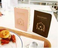 Wholesale Contracted cortex passport holder passport passport bag brown pink pc