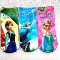 Wholesale New Arrival Baby socks cartoon chilren socks frozen socks long socks style lovely children socks baby wear socks