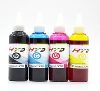 Wholesale Refill ink for Primera LX900 RX900 inkjet printer CISS and ink cartridge BK C M Y each ml
