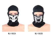 balaclava bandana - 4 colors Adults Skull Bandana Bike Motorcycle Helmet Neck Face Masks Motorcycle Biker bicycle Balaclava masks
