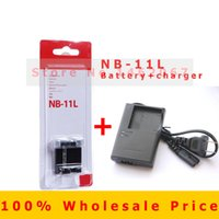 Wholesale Original Rechargeable Battery NB L NB L NB11L CB LDC CB LDE Charger for Canon IXUS HS HS A4000 A3400 A2400 A2300