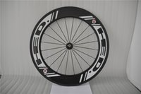 Carbon best wheelsets - 2016 Best Selling HED carbon wheels mm New Black Spokes White Decals Bicycle Wheelsets C Full Carbon Bike Wheel Black Spokes Hole