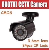 Wholesale 800tvl IR outdoor CCTV camera with IP66 Waterproof Bullet Security Camera IR Leds IR Cut for Better Image M IR Distance