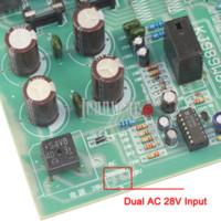 amplifier heat sink - 5HZ KHZ fr Power Amplifier FET Board Stereo Amplifier Board with Heat Sink AC28V Dual Power Input