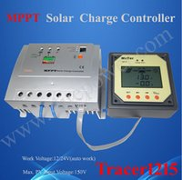 Tension contrôleur 12v France-Haute efficacité Entrée Max PV 150V Tension de la batterie 12V 24V Contrôleur solaire 10A Fonction MPPT avec écran LCD
