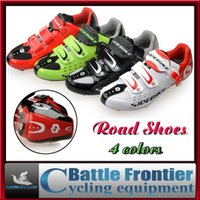 cycling shoes - Specialized SIDEBIKE Road Cycling Shoes Men s Outdoor Sport Bike Bicycle Sneaker Self locking Athletic Bike Racing Shoes Colors US7