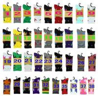 achat en gros de couleurs de feuille d'érable-38 couleurs Hot haut Crew Socks Skateboard chaussettes hiphop Maple Leaf Leaves Bas coton unisexe Plantlife Socks