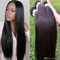 Wholesale Cheap a Malaysian straight hair KBL hair products Malaysian virgin hair straight g kinky straight human hair weaves
