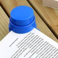 Wholesale 1 Random Color Practical Staple Free Stapler Paper Binding Binder Stapless Stationery