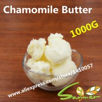 Cheap Wholesale-1000G Chamomile Butter Pure Essential Oil   Chamomile Butter 1000g DIY Skin Care Product Lip Stick Soap Raw Materials