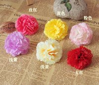 artificial carnations - piece Carnation decorative flowers artificial flower diy flower corsage hair accessory flower