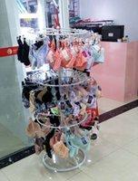 Cheap Wrought iron clothes rack Best store shelf
