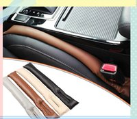 Wholesale Car seat leakage protection plug Auto PU Leather Car Seat Gap Filler Pad Cover Stopper Leakproof Soft Padding Accessories Protective Sleeve