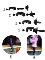 Wholesale Hot sale Adjustable Salon Hair Hairdressing Clamp Training Head Mold Mannequin Holder wig stands C20
