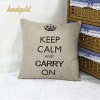 Wholesale Home Decorative Pillow Case Cotton Linen European Style Cover Pillowcase
