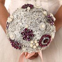 Wholesale Wedding Bouquet brooch bouquet wedding bouquet bridesmaids bouquets wedding decor brooch decor brooch acc