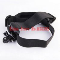 aee cam - New Elastic Mount Extendable Head Belt flexible Strap Band adapter for S amp ny action cam HDR AS100v AS30V AEE camera accessory