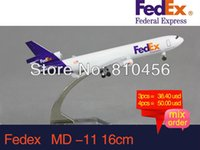 airline aircraft models - FEDEX MD diecast airplane model CM hobby model aircraft model airline souvenir gift aircraft mockup
