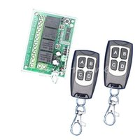 Wholesale Best Price V A CH M Wireless Remote Control Relay Switch Transceiver with Receiver Compatible with order lt no