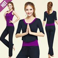 Wholesale 3Pcs Set Fashion new brand Women s Yoga sets Charm Breathable Fitness Gym Clothing Tracksuit Set Sportswear Workout Set