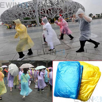 Wholesale New Disposable Adult Emergency Raincoat Camping Travel Outerware