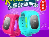 Localiser K5 Montres intelligents Anti Montre Perdu Wistwatch appel SOS Location Finder Tracker pour Bracelet Moniteur Kid enfant enfants GPS cadeau