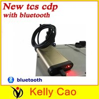 Cheap Wholesale-2015 Hot selling newest 2013.03 software with keygen Gold TCS cdp pro plus with bluetooth 2 in 1Compact Diagnostic Partner