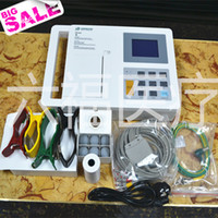Wholesale in LCD channel ecg EKG machine Electrocardiograph Portable ECG Machine with channels
