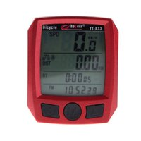Wholesale Cheap Affordable LCD Backlit Bicycle Speedometer Imported Sensors Bike Stopwatch Waterproof Cycling Odometer Stopwatch BPU018