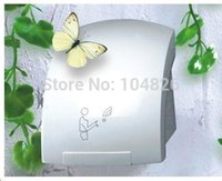 Wholesale ABS material W most popular infrared sensor hand dryer wall mount installing