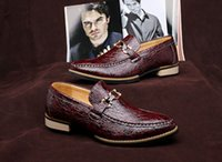 alligator shoes - new men alligator shoes leather shoes