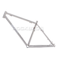 Wholesale DARKROCK quot MTB Mountain Bike Frame Travel Bicycle Frame Chrome Moly Reynolds Size L quot