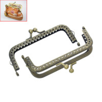 Wholesale 2x1PC Metal Frame Kiss Clasp Arch For Purse Bag Bronze frame full arch kitchen