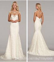 alabaster beads - New Arrival Bridal Alencon Lace Fit to Flare Strapless Fishtail Wedding Dress Jewel Ruched Crystal Alabaster Bolero with Ch