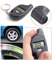 Wholesale Motorcycle Promotion Tachometer Manometro De Presion Digital Tensiometro Car Lcd Tyre Tire Pressure Gauge Keychain