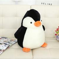 al por mayor pingüino regalos de cumpleaños-Juguete de peluche Los niños de dibujos animados lindo rompecabezas pingüino muñeca creativa personalidad de cumpleaños de regalo de Navidad amantes del bebé juguetes pingüino 26