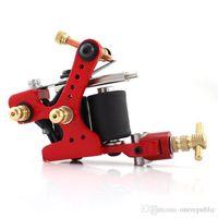 Wholesale Tattoo Machine Shader Liner Rotary Gun Colors Assorted Tatoo Motor Gun Grips Kits Cheap PriceZy00207