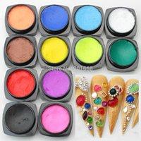 Wholesale D UV Sculpture Gel Coloured Nail Art Tips Creative Manicure Decoration g
