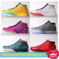 art tricks - Kyrie Basketball Shoes New arrival Easter independence Day Tricks Kyrie Irving basketball shoes high Quality Men Athletic Shoes