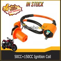 Wholesale Motorcycle High Performance Racing Ignition Coil For Most cc cc Chinese made GY6 QMJ QMI157 QMJ QMI Engine Scooter