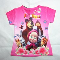 t-shirt wholesale - Frozen Christma summer new children s clothing clearance in Europe and America Girls cartoon short sleeved t shirt youngster
