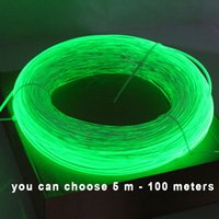 Wholesale 5meters mm Side Glow Fiber Optic Cable car light